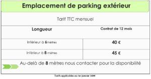 TARIF PARKING EXT-2